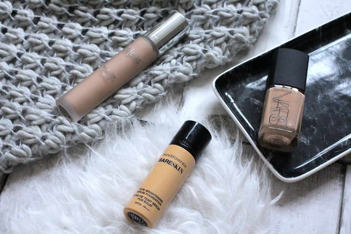 foundations that achieve dewy skin