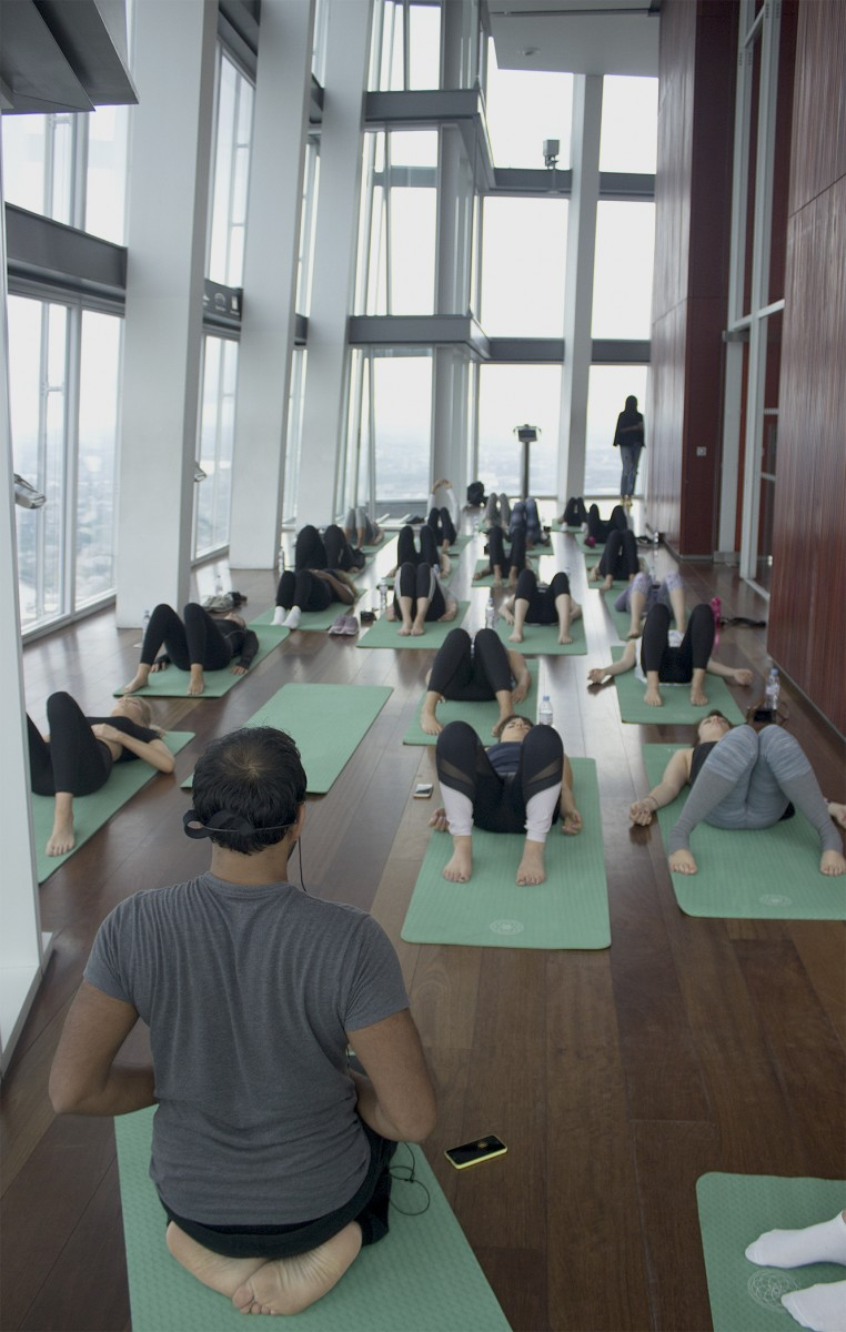 farfetch yoga event