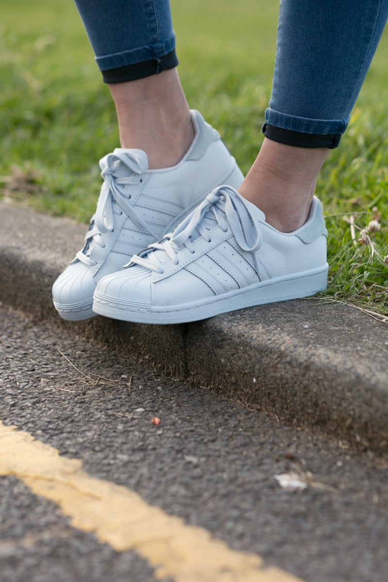 adidas reflective superstars