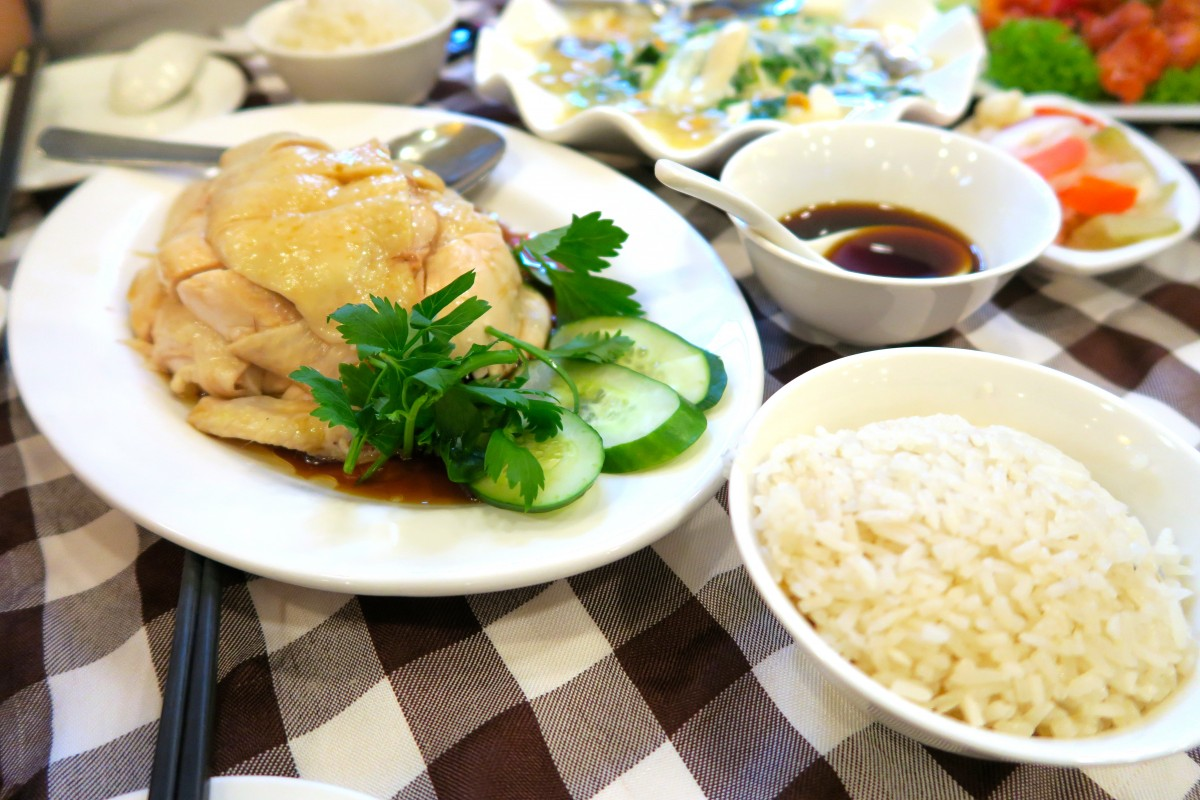 singapore famous chicken rice