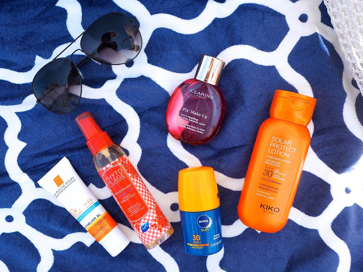 poolside beauty essentials