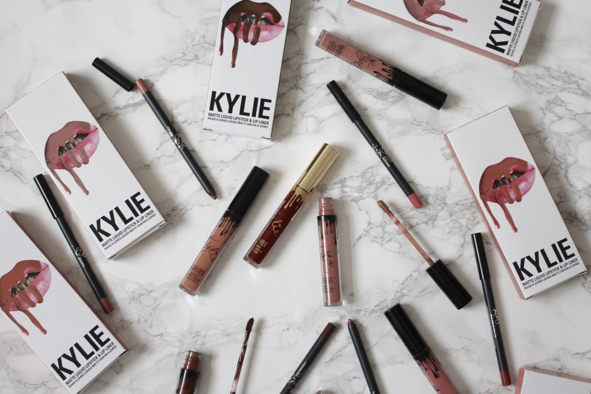 kylie cosmetics lipkit collection