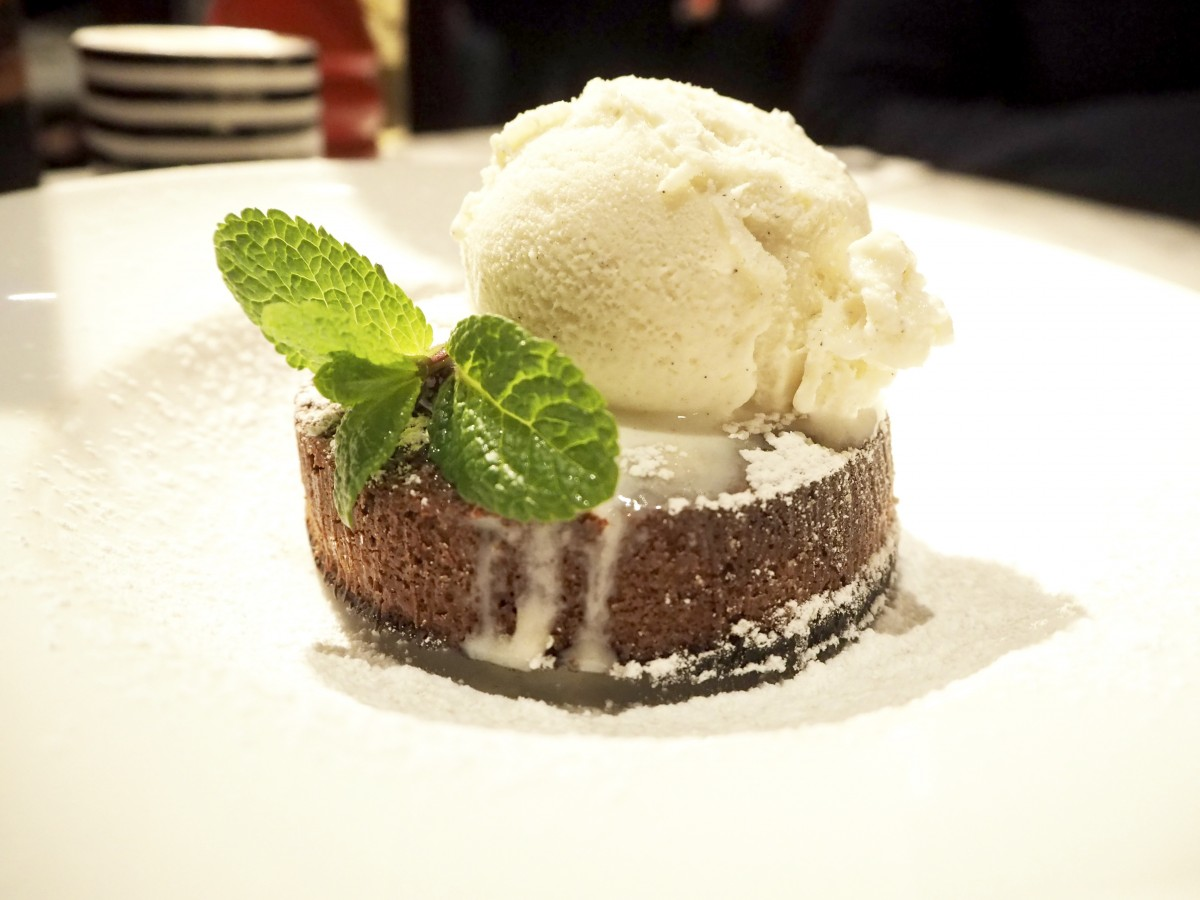 pizza express chocolate fondant pudding
