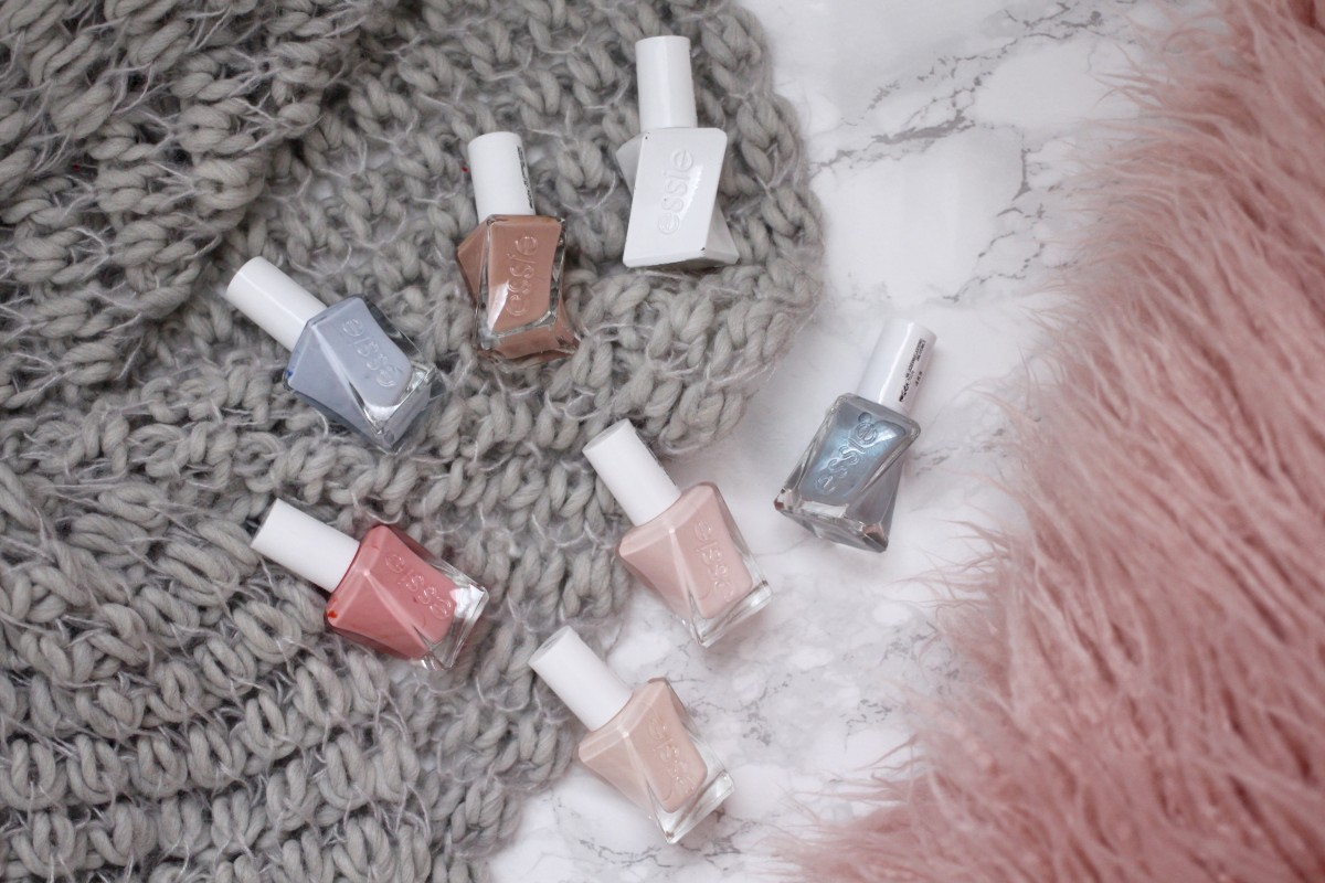 essie gel nail polishes - ballet nudes collection