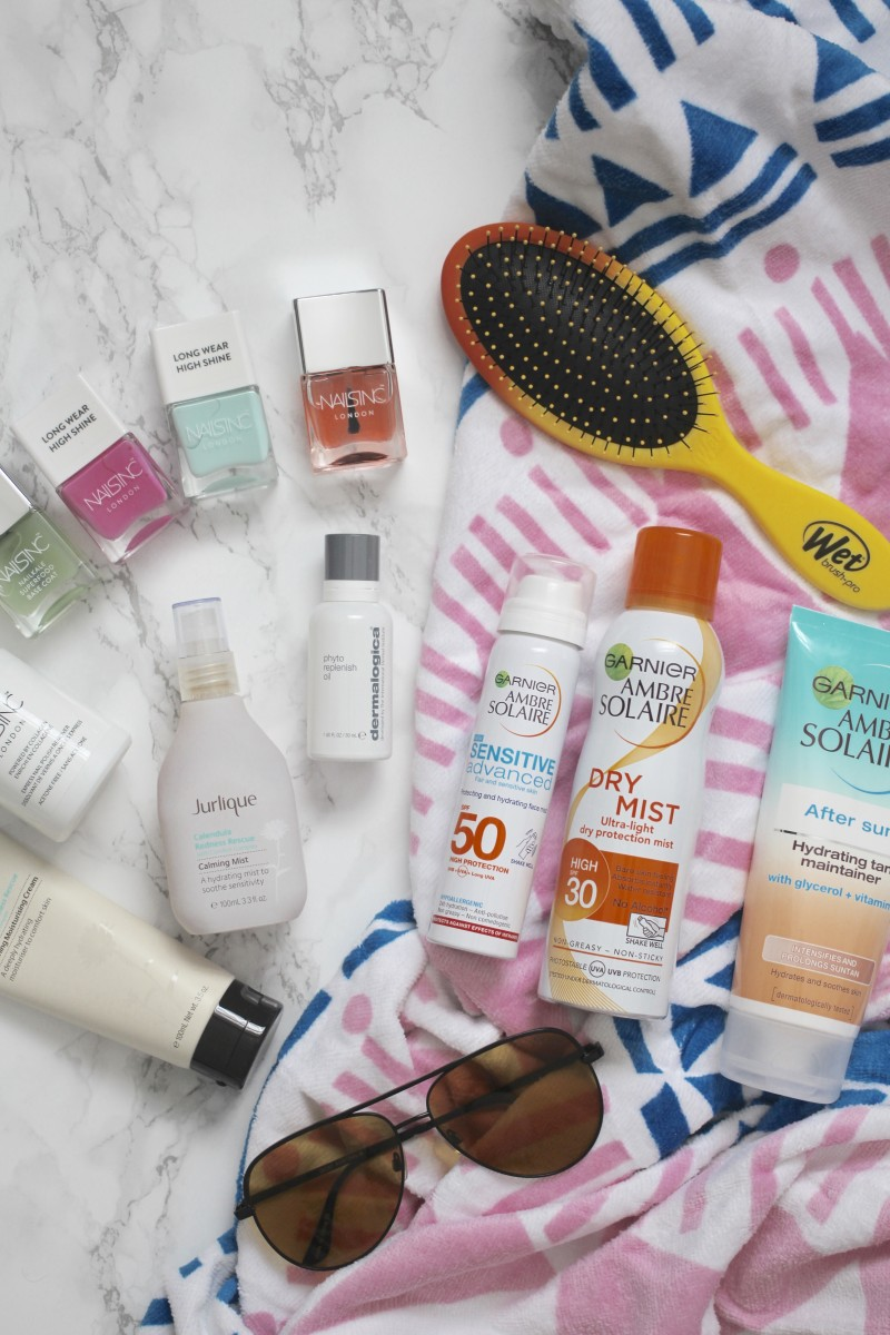 the travel beauty essentials