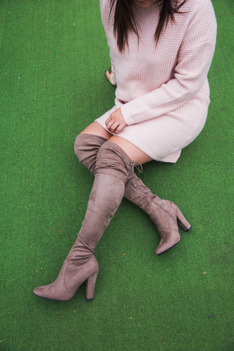 misspap over the knee boots
