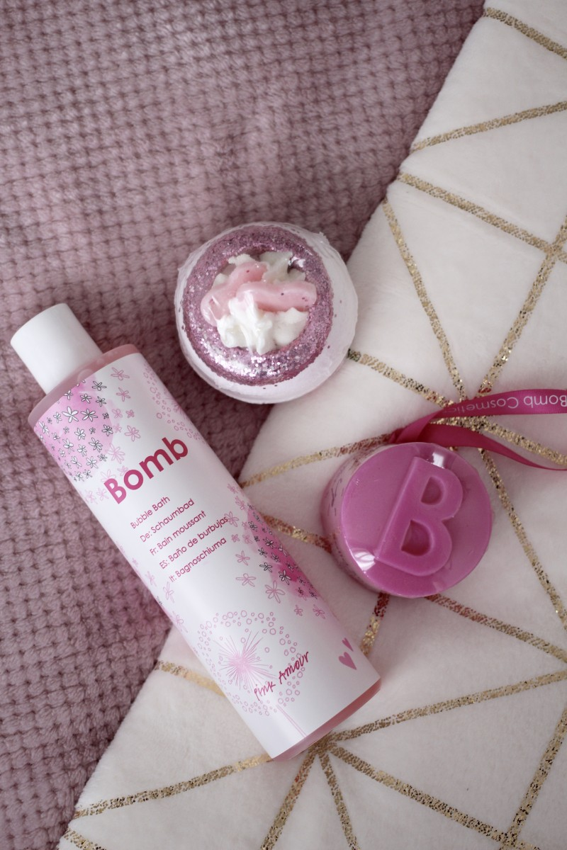 bomb cosmetics rose bath products