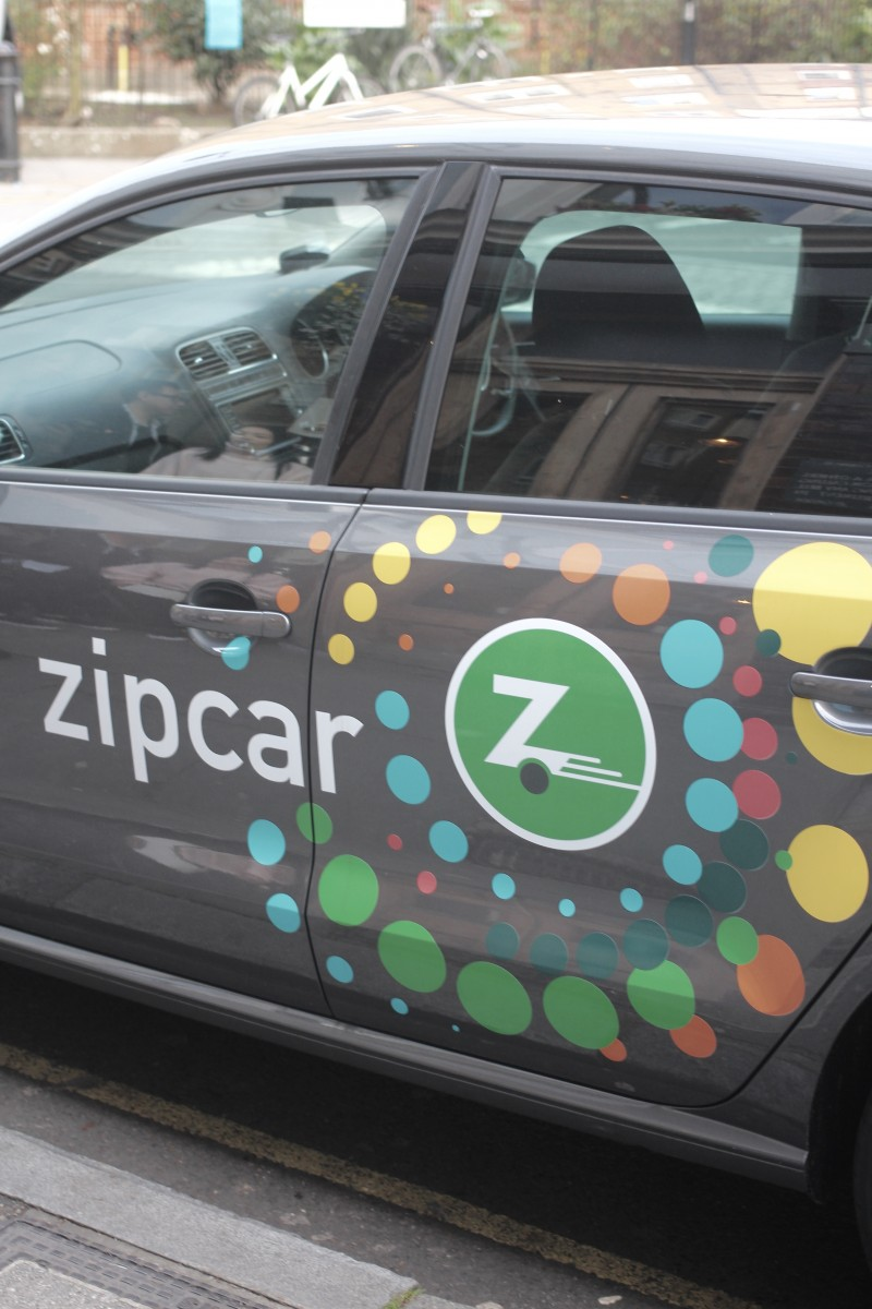 zipcar flex in the city