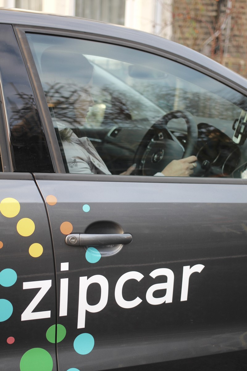 zipcar, flex in the city, julie ly