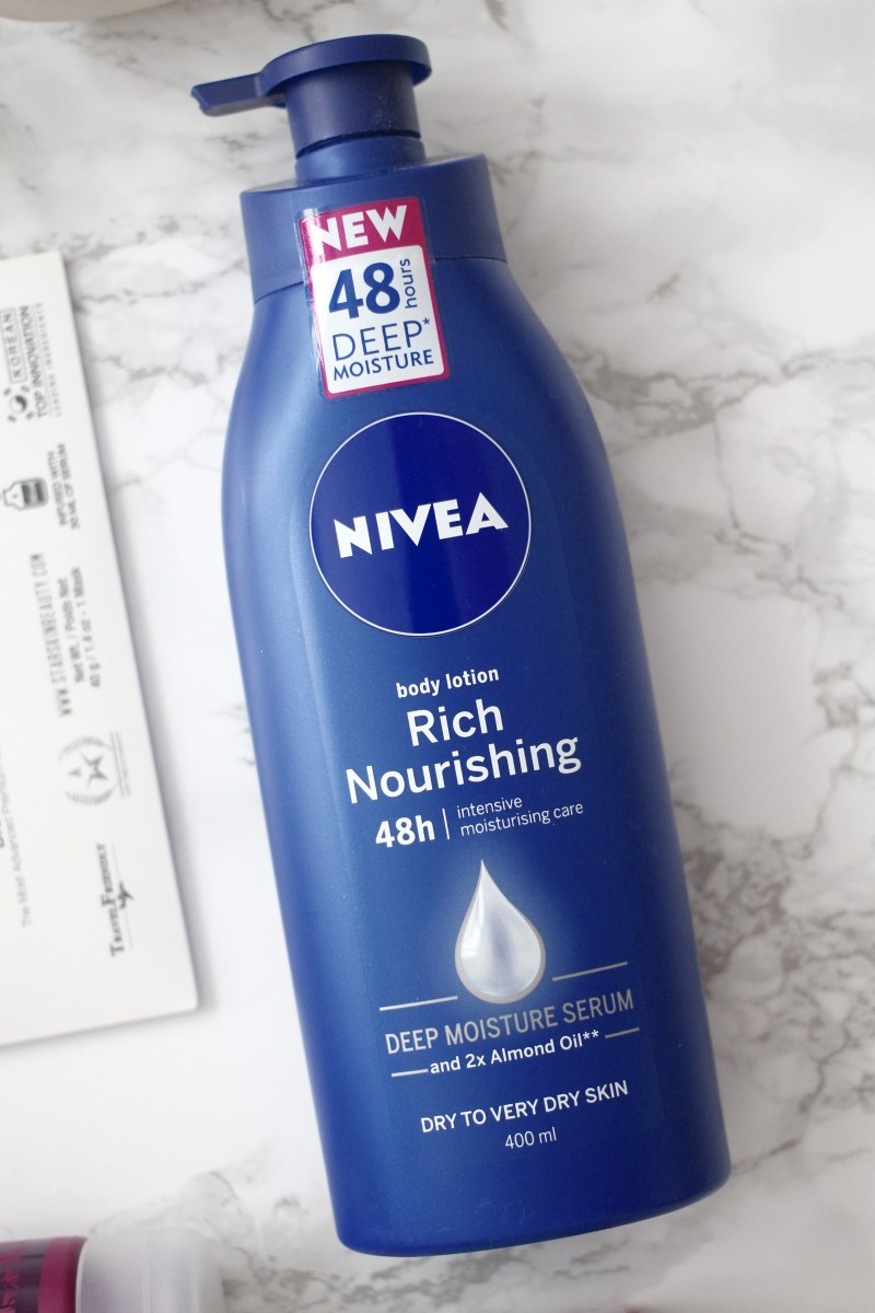 nivea body lotions