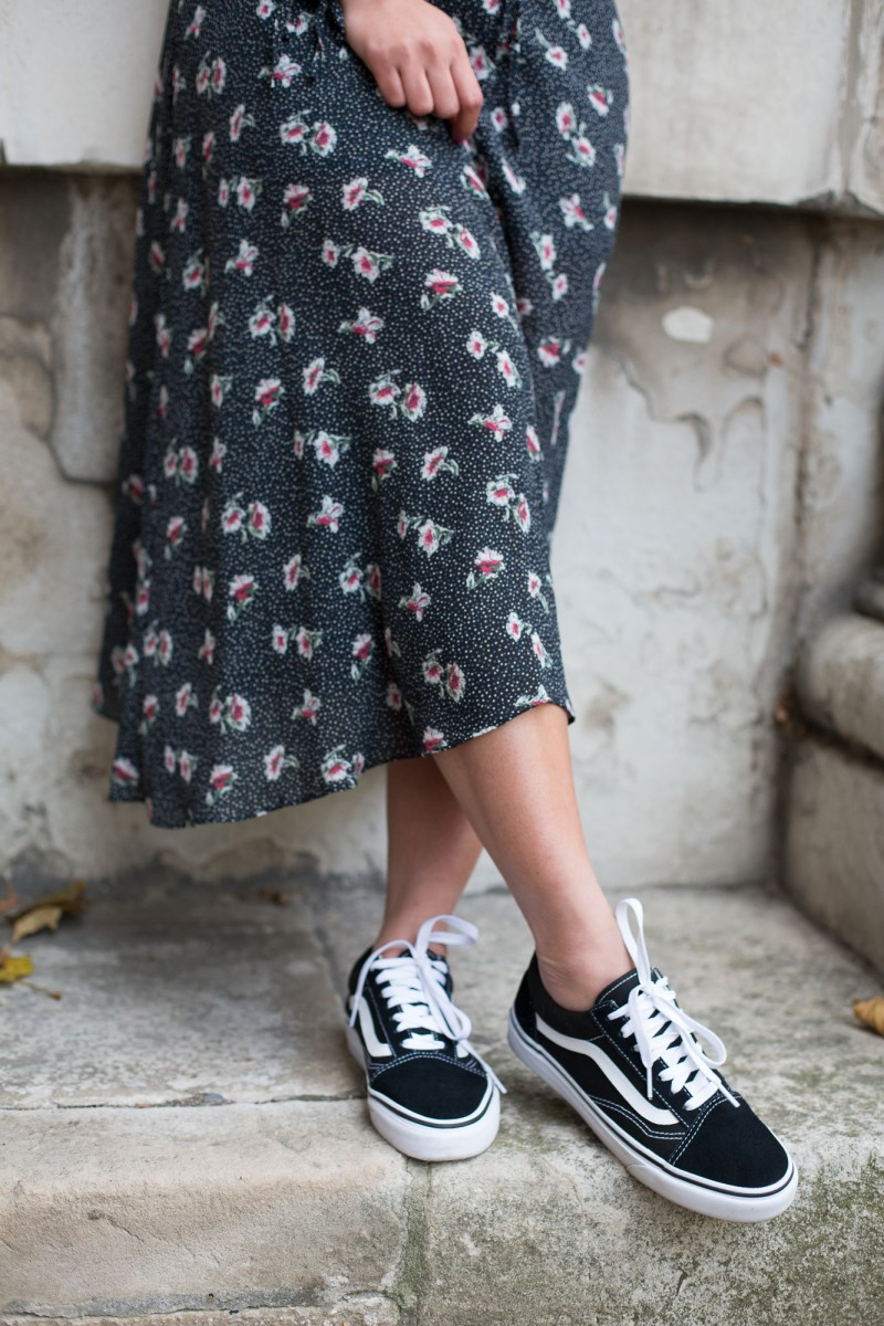vans, old skool, trainers, blogger favourite