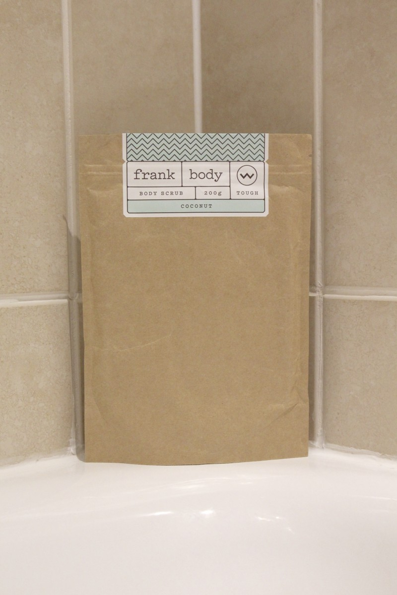 frank body, coffee scrub, must try body scrub
