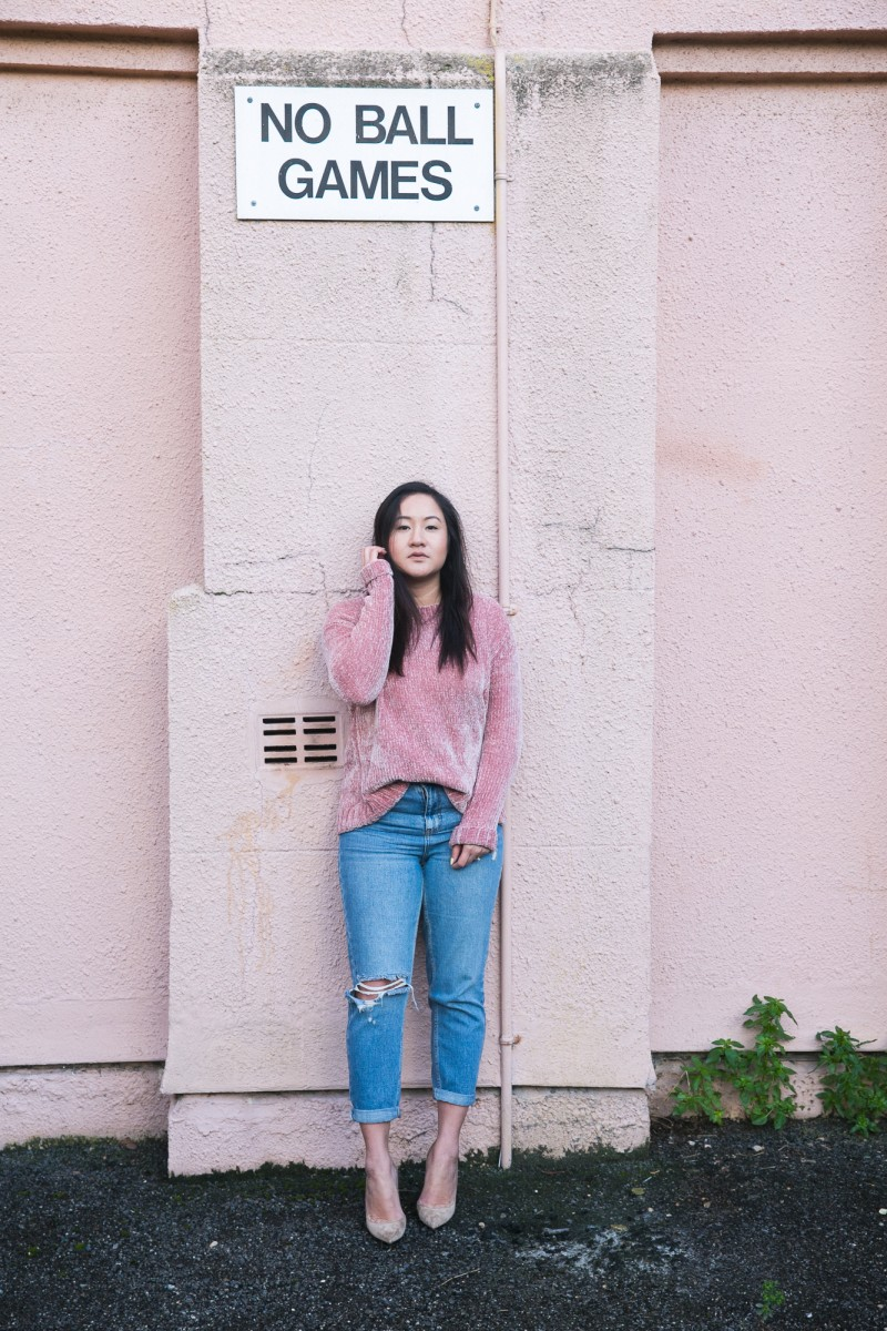 mom jeans, ootd, fashion bloggers to watch