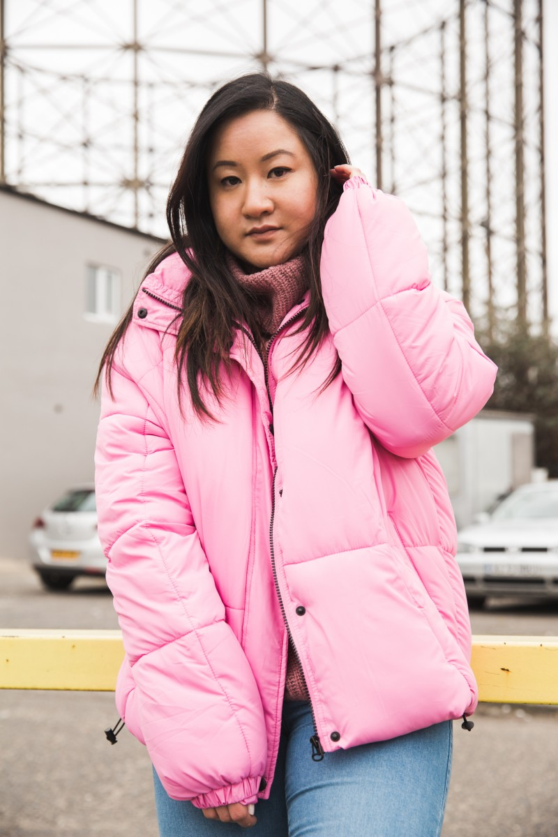 how to recover, unproductive day, lifestyle blogger, how to style a puffa jacket, how to wear a pink coat