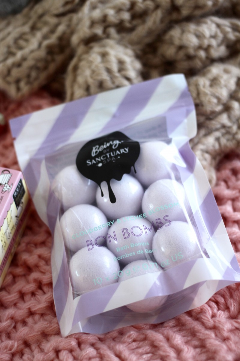 being sanctuary bath bombs