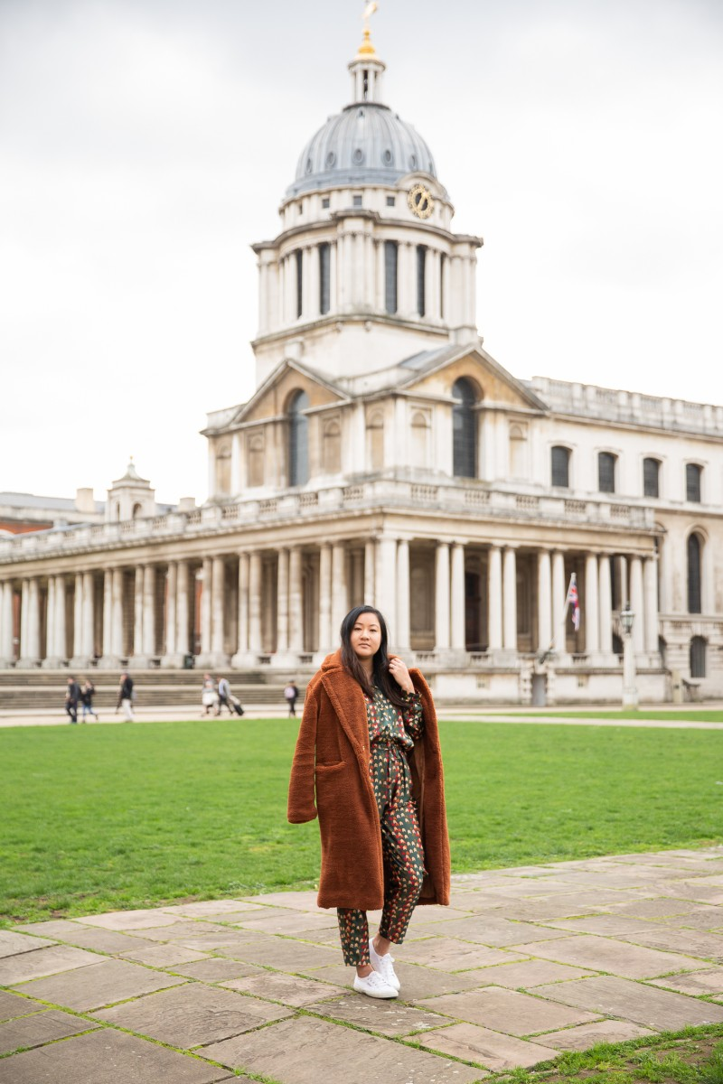 how to style a teddy coat