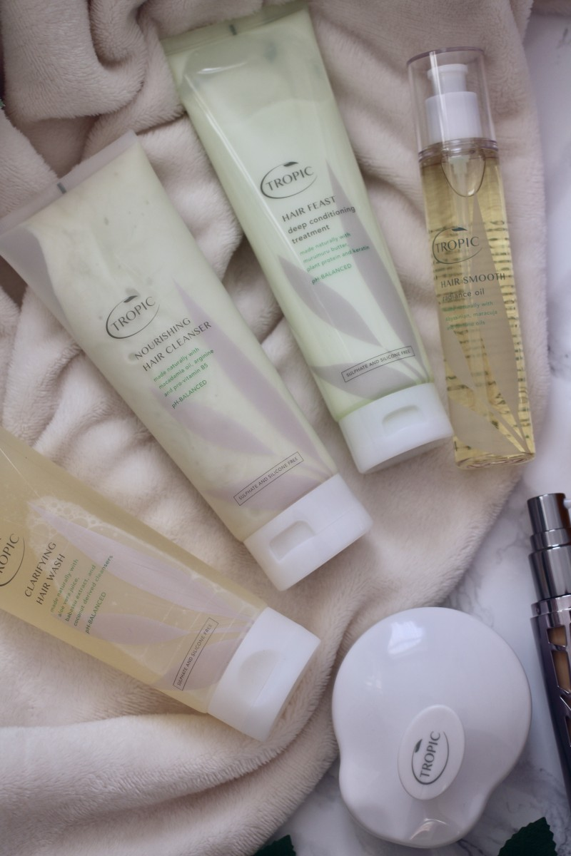 tropic skincare hair feast