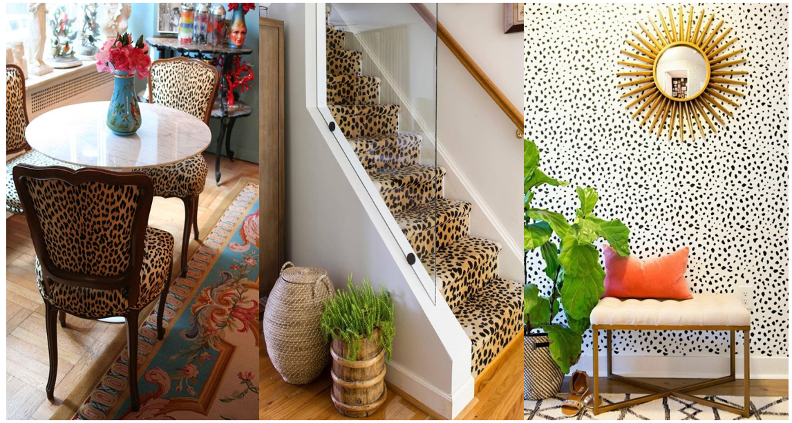 how to design your home with leopard print