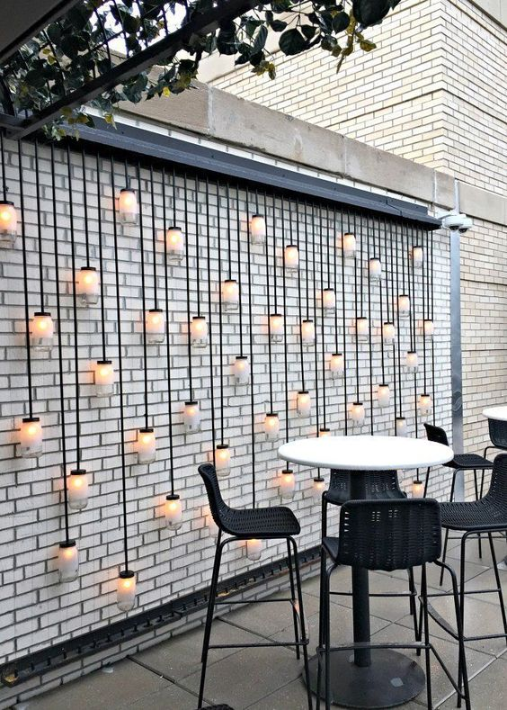 lighting ideas outdoors