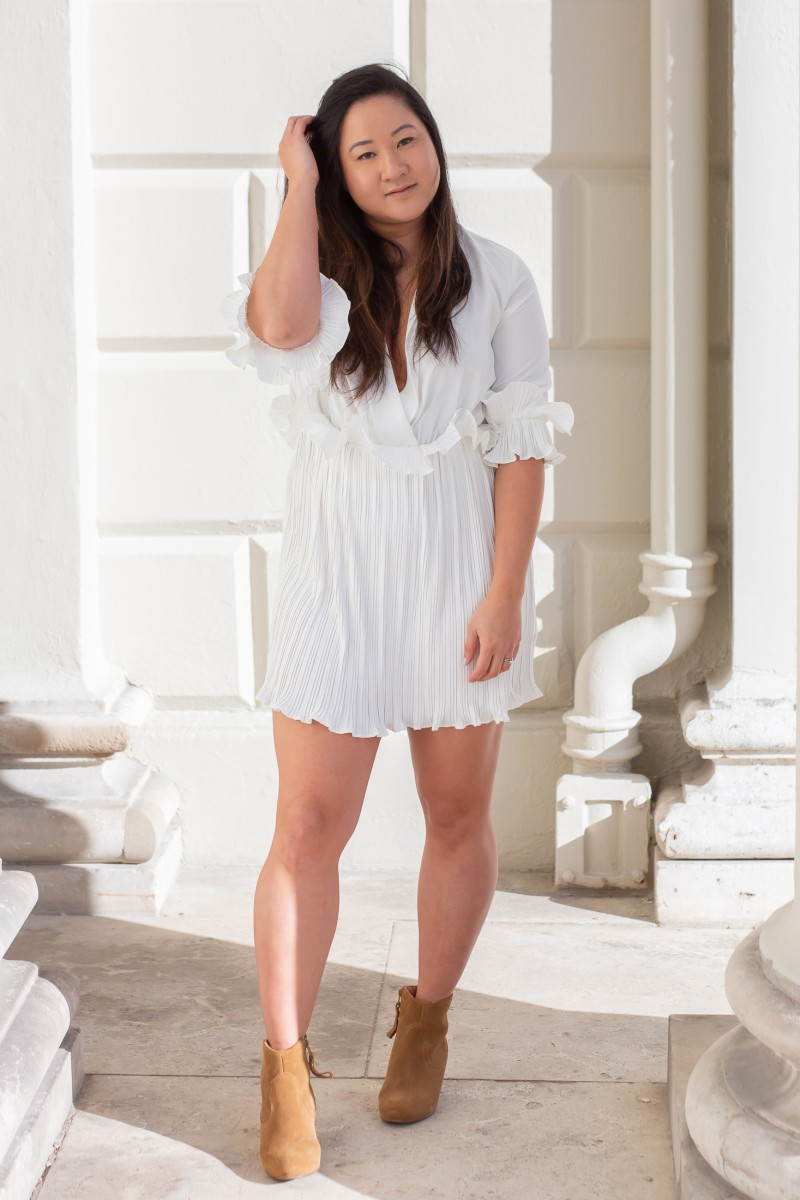 how to wear a white dress for summer