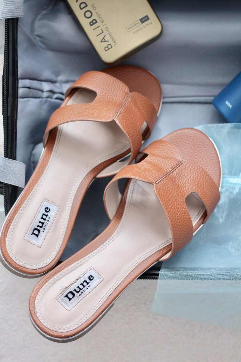 dune loopy sandals