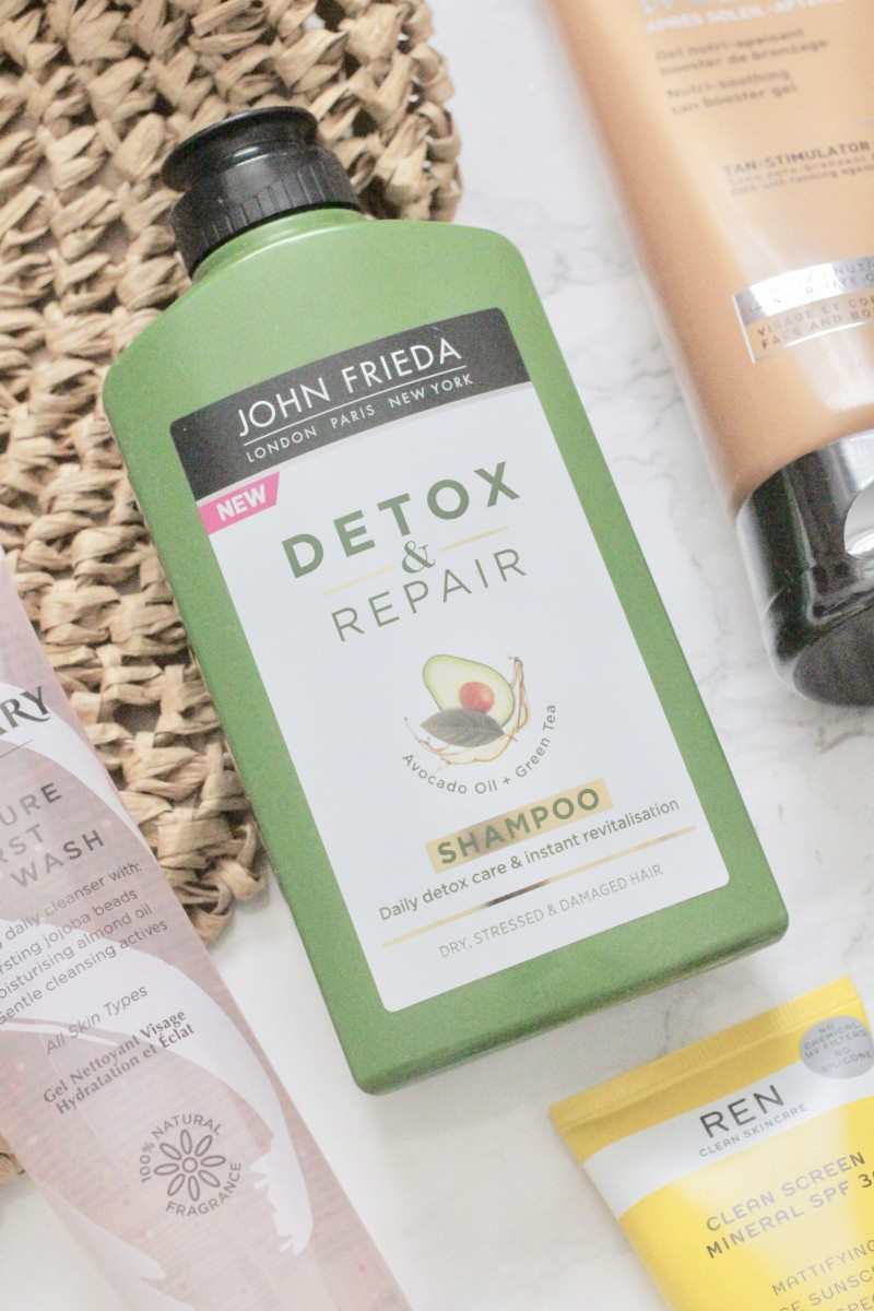 john frieda detox and repair shampoo