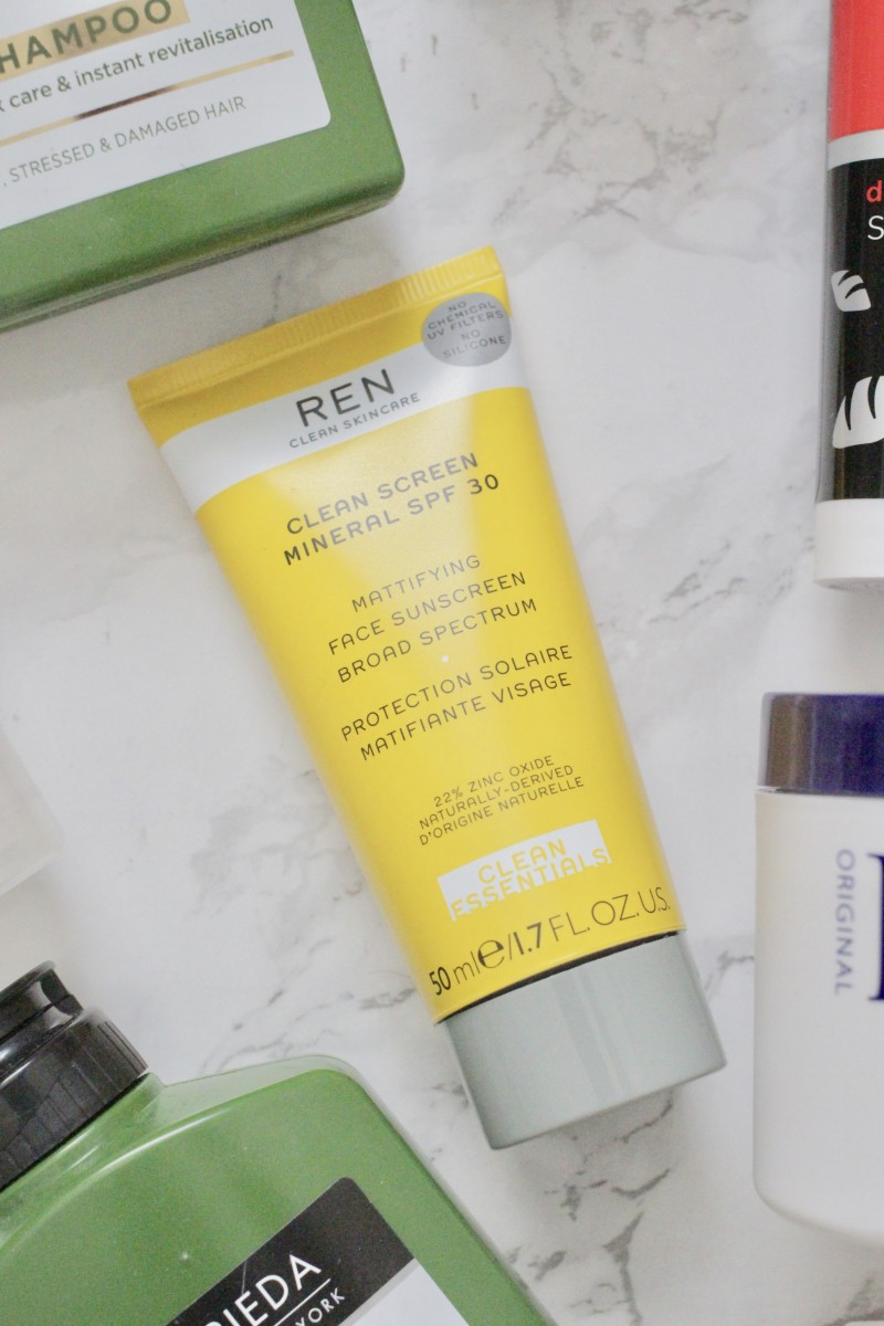 ren skincare sun protection