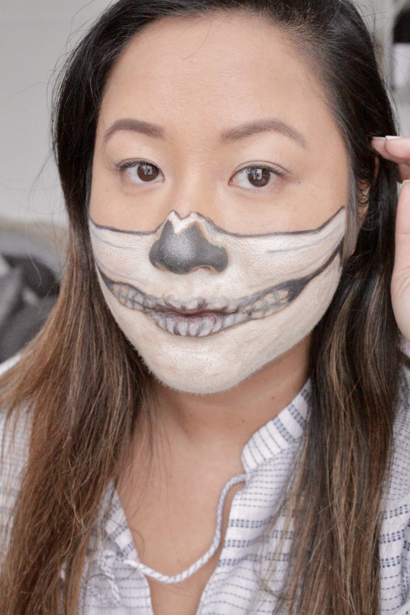 how to create a halloween make up look