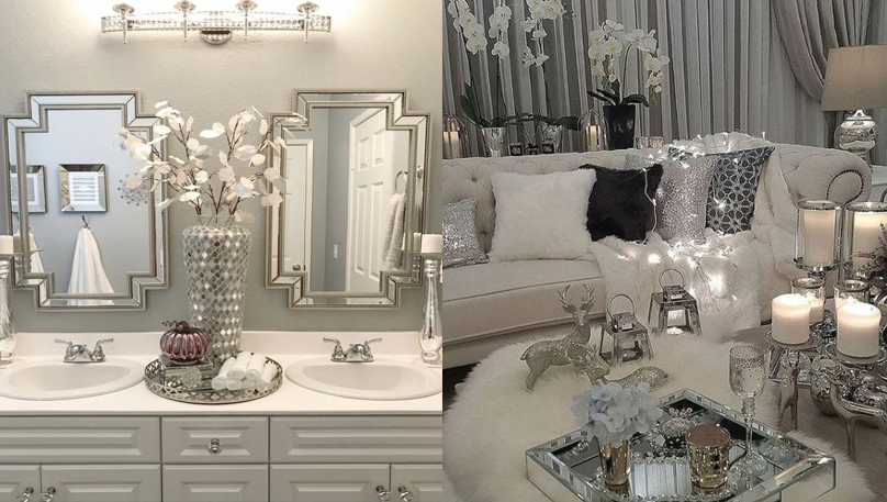 glam house decor