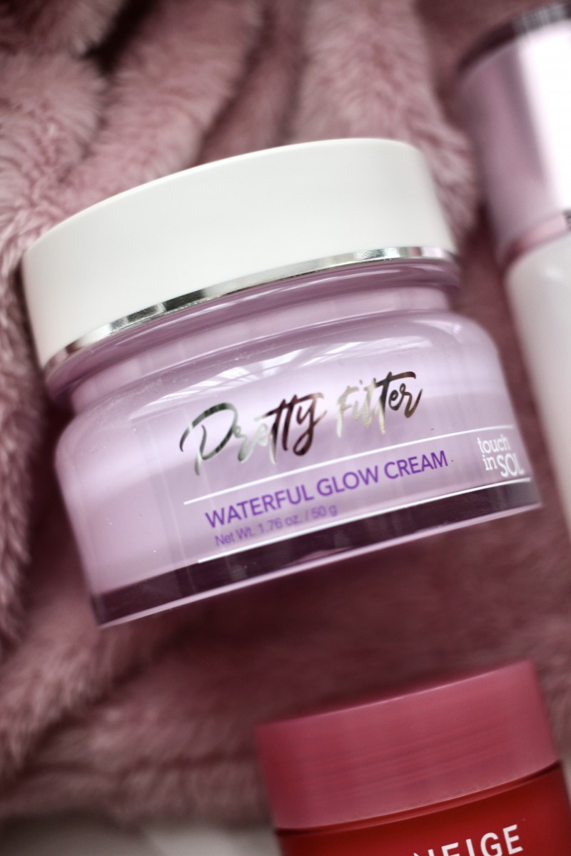 touch in sol waterful glow cream